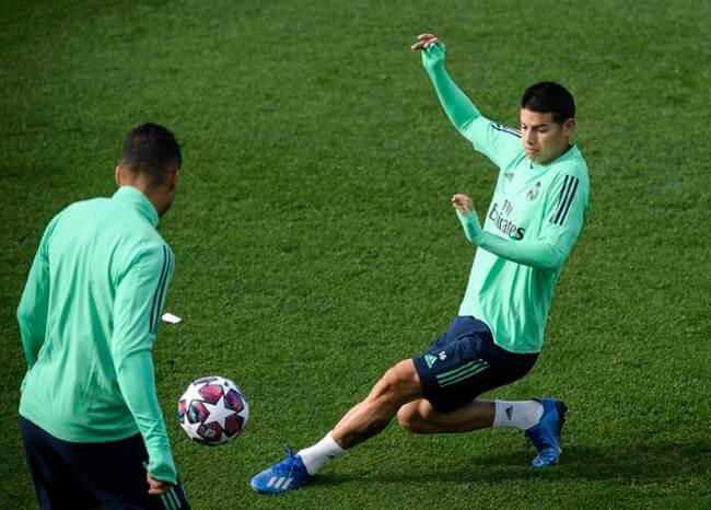 James insistiría en quedarse en el Real Madrid la próxima temporada
