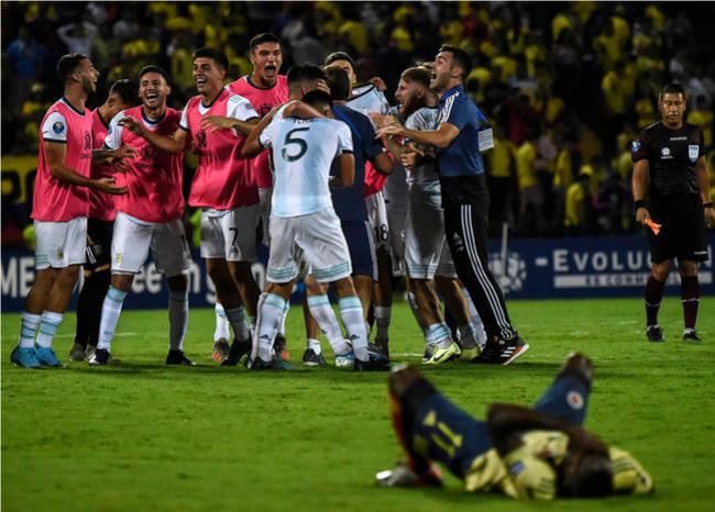 Video: El fallo de Ménder García que impidió el empate de Colombia ante Argentina