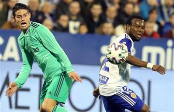 Sorpresiva eliminación de Real Madrid en Copa del Rey; James solo jugó primer tiempo