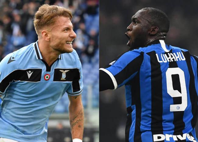 ¿El juego del título? Lazio vs Inter, el partido más llamativo en fecha de Serie A