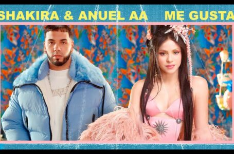 7.  – Me Gusta-Shakira, Anuel AA  (Official Video)